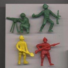 Figuras de Goma y PVC: SOLDADOS MUNDI TOYS -------(REF M1 E1DETRAS). Lote 53202433