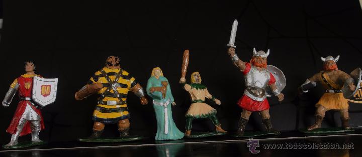Figuras de Goma y PVC: EL CAPITÁN TRUENO Y SUS AMIGOS DE JIN - Foto 2 - 53207834