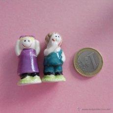 Figuras de Goma y PVC: FIGURAS INFANTILES CERAMICA. Lote 53259283