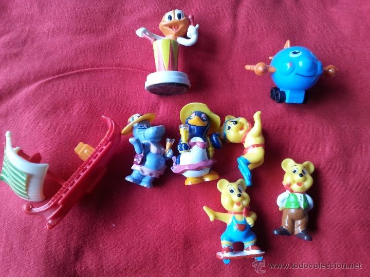 FIGURAS HUEVO KINDER Y CHUPA CHUPS (Juguetes - Figuras de Gomas y Pvc - Kinder)