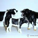 Figuras de Goma y PVC: FAMILIA DE BÓVIDOS. Lote 53289646