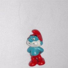 Figuras de Goma y PVC: FIGURITA GOMA / PVC -- PAPA PITUFO. Lote 53306115