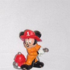 Figuras de Goma y PVC: FIGURITA GOMA / PVC -- MICKEY BOMBERO. Lote 53306411