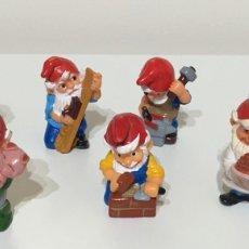 Figuras Kinder: KINDER SORPRESA COLECCIÓN COMPLETA ENANITOS O GNOMOS. Lote 53321418