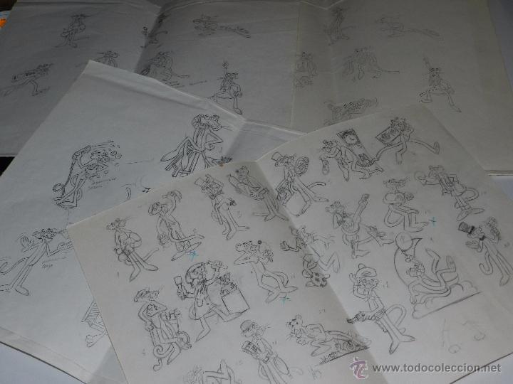 (M) DUNKIN PANTERA ROSA - LOTE DE 4 CARTILINAS CON LOS DISEÑOS ORIGINALES DE LAS FIGURAS DE DUNKIN (Juguetes - Figuras de Goma y Pvc - Dunkin)