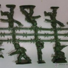 Figuras de Goma y PVC: MONTAPLEX - COLADA DE SOLDADOS ESPAÑOLES ----- (REF M1 ARRMU). Lote 53394714