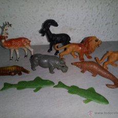 Figuras de Goma y PVC: LOTE ANTIGUAS FIGURAS DE ANIMALES PVC. Lote 53405975