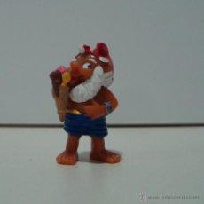 Figuras Kinder: 4 GNOMO KINDER FERRERO MUÑECO NO PVC FIGURITA HUEVO SORPRESA. Lote 53410567