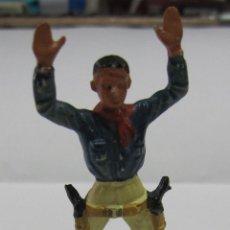 Figuras de Goma y PVC: COWBOY DE STARLUX. FRANCIA / FRANCE. EL DE LA FOTO. Lote 53414433