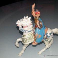 Figuras de Goma y PVC: REAMSA : GUERRERO MEDEVAL SARRACENO SERIE EL CID CAMPEADOR REF. 296 DEL CATALOGO AÑOS 60 BUEN ESTADO. Lote 53419902