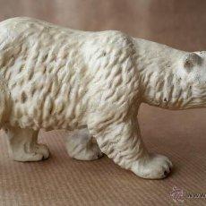 Figuras de Goma y PVC: OSA POLAR LINEOL 1930 ZOO ANIMALES SALVAJES. Lote 53443172