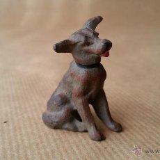 Figuras de Goma y PVC: LINEOL FOXTERRIER 1950 ZOO. Lote 53453552