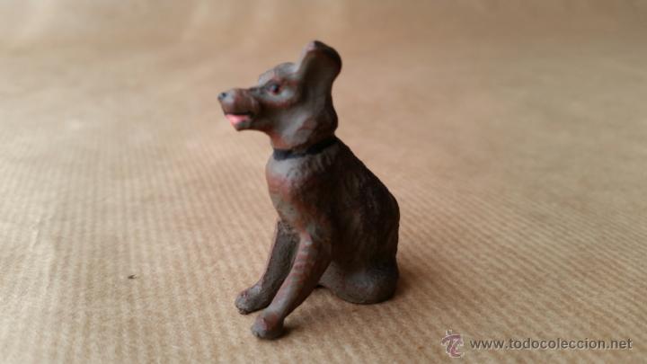 Figuras de Goma y PVC: LINEOL FOXTERRIER 1950 ZOO - Foto 2 - 53453552