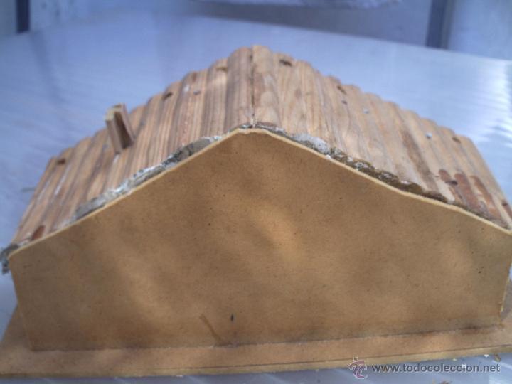 Figuras de Goma y PVC: cabaña de trampero unica en todocoleccion - Foto 2 - 53472944