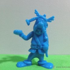 Figuras de Goma y PVC: FIGURA ANTIGUA DUNKIN UDERZO 'SERIE ASTERIX Y OBELIX TIPO 002 00001'.. Lote 53496408