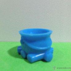 Figuras de Goma y PVC: FIGURA ANTIGUA DUNKIN UDERZO 'SERIE ASTERIX Y OBELIX TIPO 011 00001'.. Lote 53496817