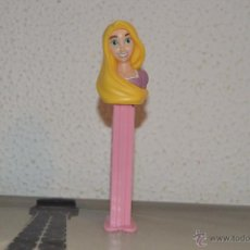 Dispensador Pez: DISPENSADOR DE CARAMELOS PEZ DISPENSADORES RAPUNZEL DISNEY. Lote 53569213