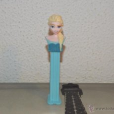 Dispensador Pez: DISPENSADOR DE CARAMELOS PEZ DISPENSADORES FROZEN ELSA DISNEY. Lote 53583366
