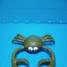 Figuras de Goma y PVC: CRAZY ZOO CRAZY PLANET CANGREJO GOMA VERDE DESMONTABLE. Lote 238520675
