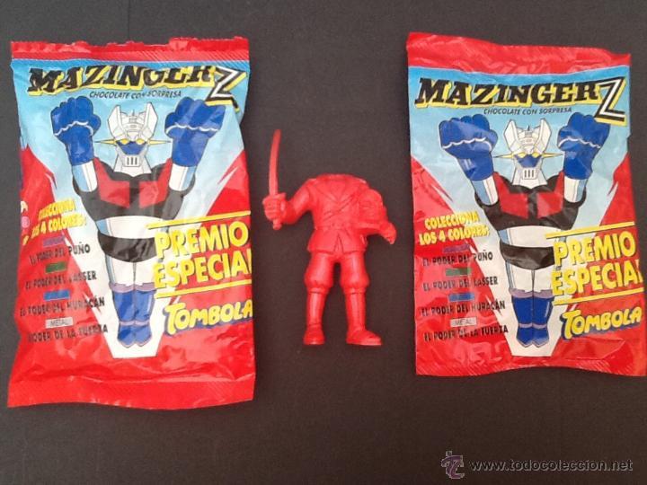 SOBRES SORPRESA MAZINGER Z DE COMANSI (Juguetes - Figuras de Goma y Pvc - Comansi y Novolinea)