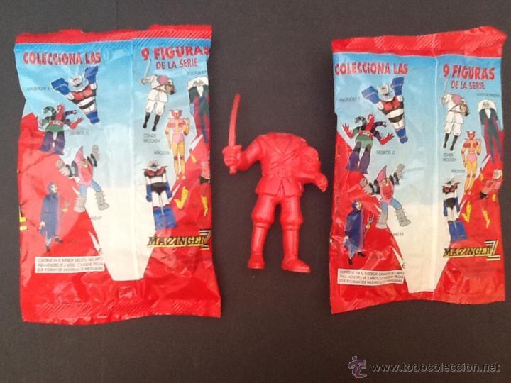 Figuras de Goma y PVC: Sobres sorpresa Mazinger Z de Comansi - Foto 2 - 53688392