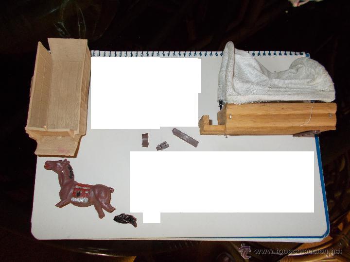 Figuras de Goma y PVC: COMANSI: TODO EL OESTE AMERICANO. REF. 222 CAJA GRANDE TODO MADERA AÑOS 60 FUERTE FORT FEDERAL. PTOY - Foto 18 - 46162854