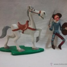Figuras de Goma y PVC: FIGURA PVC DON QUIJOTE Y ROCINANTE - RONAGOSA CÓMICS SPAIN 1987. Lote 53735605