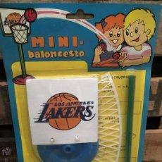 Figuras de Goma y PVC: BLISTER MINI BALONCESTO QUIOSCO PIPERO AÑOS 70. Lote 53735761