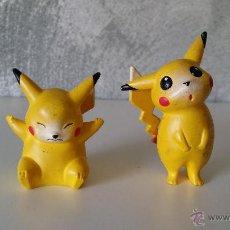 Figuras de Goma y PVC: FIGURAS POKEMON PIKACHU PVC. Lote 53763895