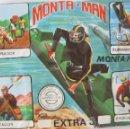 Figuras de Goma y PVC: MONTAPLEX MONTAMAN SOBRE CERRADO EXTRA 3 ----- (REF M2ARRCAZA). Lote 166258584