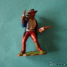 Figuras de Goma y PVC: FIGURA PISTOLERO PLASTICO 54MM. Lote 53782417