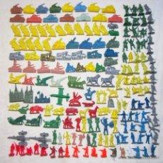 Figuras de Goma y PVC: 180 FIGURITAS PLÁSTICO MONTAPLEX. Lote 53867123