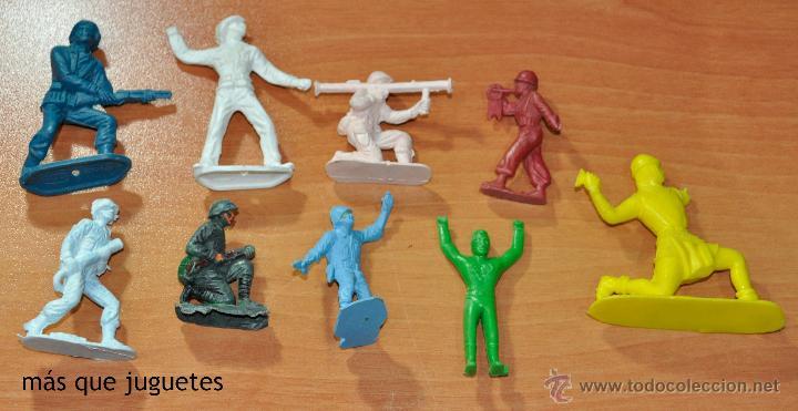 LOTE DE 9 FIGURAS DIVERSAS MARCAS Y PIPERO (Juguetes - Figuras de Goma y Pvc - Pipero)