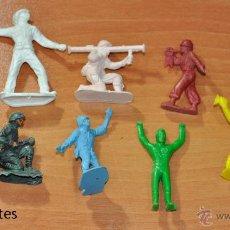 Figuras de Goma y PVC: LOTE DE 9 FIGURAS DIVERSAS MARCAS Y PIPERO. Lote 53902241