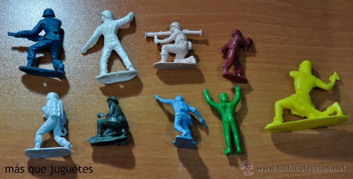 Figuras de Goma y PVC: LOTE DE 9 FIGURAS DIVERSAS MARCAS Y PIPERO - Foto 2 - 53902241