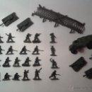 Figuras de Goma y PVC: MONTAPLEX SOLDADOS AUSTRALIANOS EN TONO GRIS. Lote 54003604