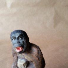 Figuras de Goma y PVC: GORILA ELASTOLIN 1950. Lote 54017719