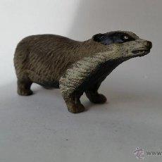Figuras de Goma y PVC: TEJON ELASTOLIN 1950 ANIMALES DEL BOSQUE. Lote 54017891