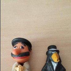 Figuras de Goma y PVC: FIGURAS DE MACARIO Y ROCKEFELLER.. Lote 54028238