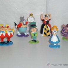 Figuras de Goma y PVC: ALICIA EN EL PAIS DE LAS MARAVILLAS MUÑECOS FIGURA PVC DISNEY - NUEVAS. Lote 191195960