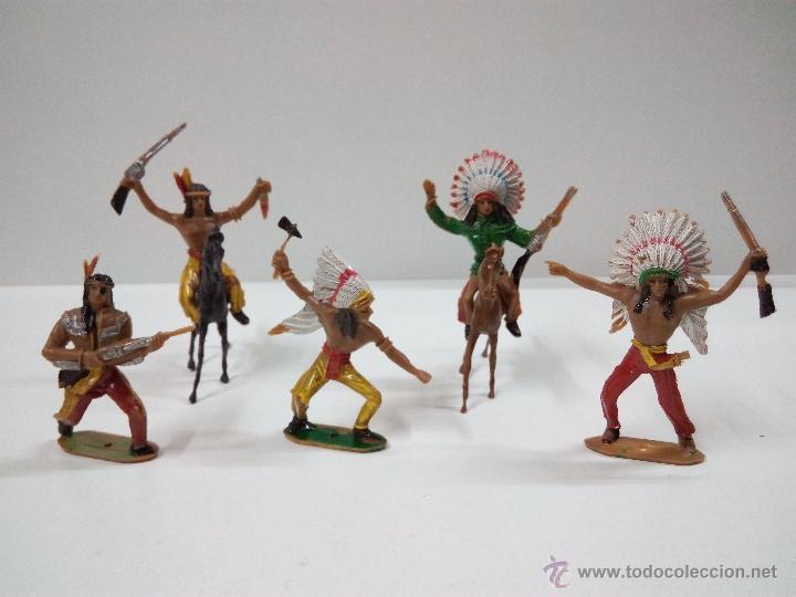 Figuras de Goma y PVC: INDIOS . COMANSI . AÑOS 70 - Foto 2 - 54045981