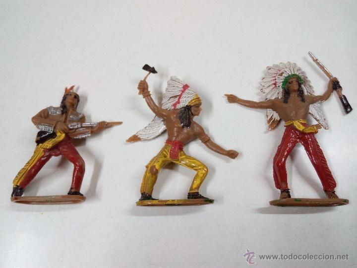 Figuras de Goma y PVC: INDIOS . COMANSI . AÑOS 70 - Foto 3 - 54045981