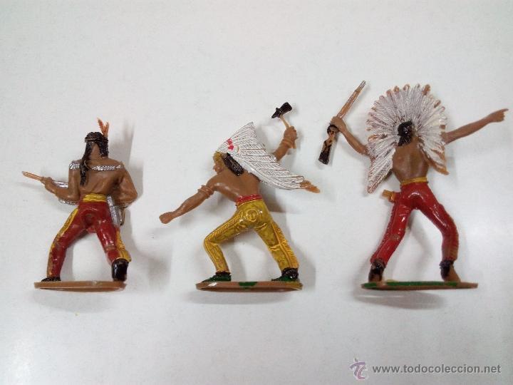 Figuras de Goma y PVC: INDIOS . COMANSI . AÑOS 70 - Foto 4 - 54045981