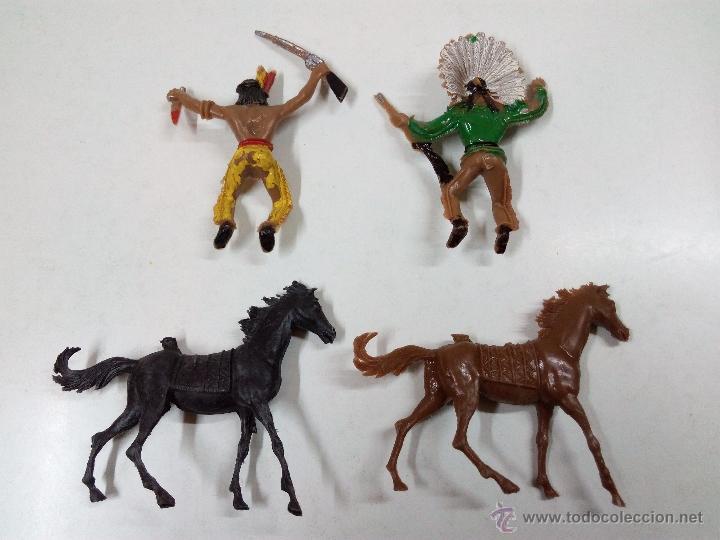 Figuras de Goma y PVC: INDIOS . COMANSI . AÑOS 70 - Foto 6 - 54045981