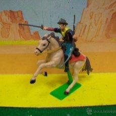 Figuras de Borracha e PVC: YANKEE BRITAINS BATALLA LITTLE BIG HORN YANQUI SEPTIMO CABALLERIA NO PECH REAMSA JECSAN. Lote 54064516