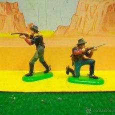 Figuras de Goma y PVC: YANKE BRITAINS BATALLA LITTLE BIG HORN . Lote 54064573