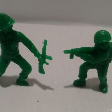 Figuras de Borracha e PVC: FIGURAS DE SOLDADOS DUNKIN. EJÉRCITO AMERICANO.. Lote 54064631