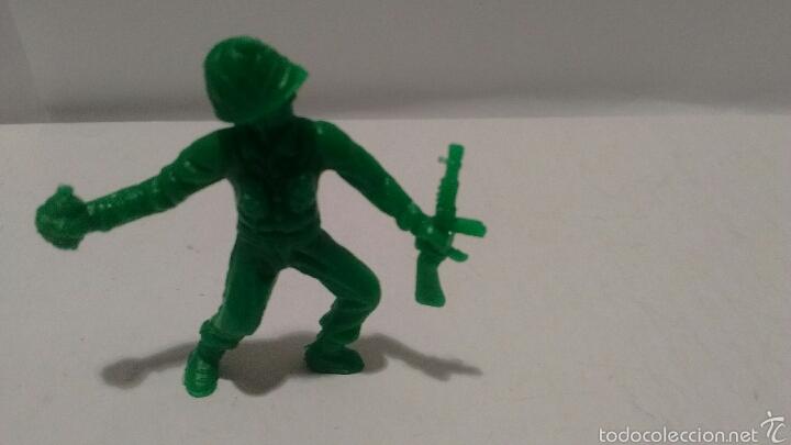 Figuras de Goma y PVC: Figuras de Soldados Dunkin. Ejército Americano. - Foto 2 - 54064631