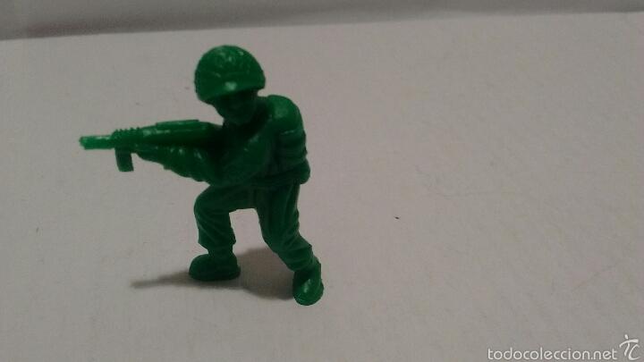 Figuras de Goma y PVC: Figuras de Soldados Dunkin. Ejército Americano. - Foto 3 - 54064631
