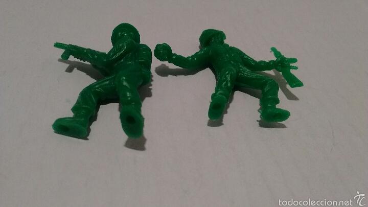 Figuras de Goma y PVC: Figuras de Soldados Dunkin. Ejército Americano. - Foto 4 - 54064631